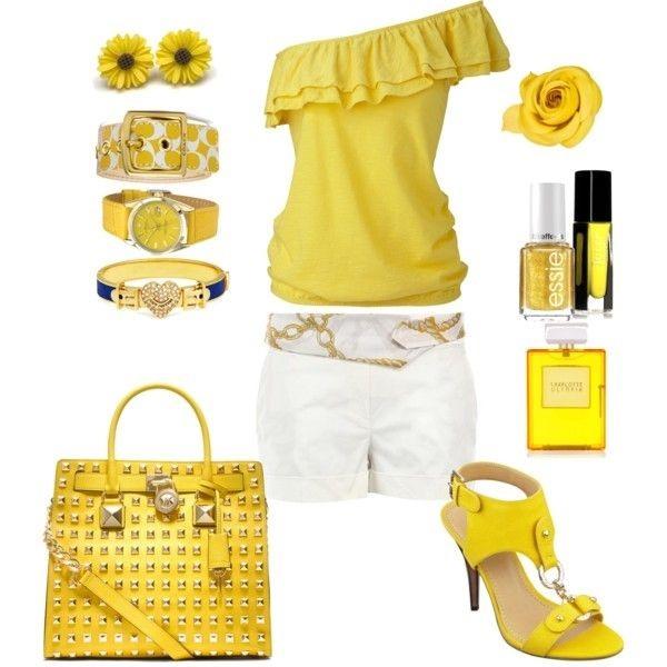 اکسسوری های زرد