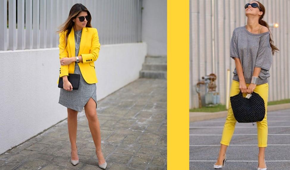 ویژگی رنگ های زرد در انتخاب لباس