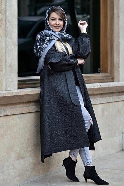 راهنمای ست کردن مانتوی مشکی با شال و روسری